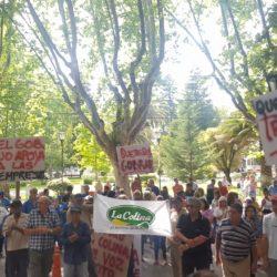 Trabajadores de La Colina se manifestaron