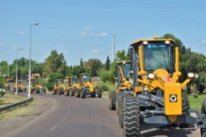 Kerchner presentará maquinaria vial