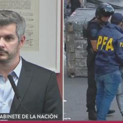 """Marcos Peña: """"La minoría perdía e incitó a la violencia"""""""