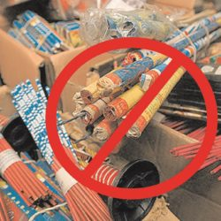 ¿Causó efecto prohibición de la pirotecnia?