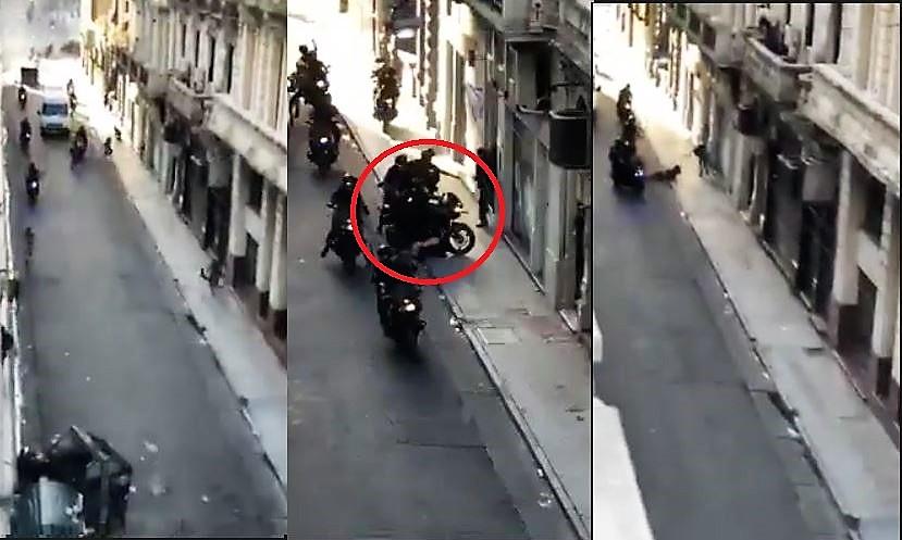 Represión en las calles de Buenos Aires Video