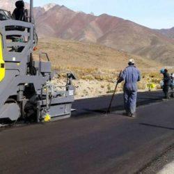 Reconstruyen la ruta 222 a Las Leñas