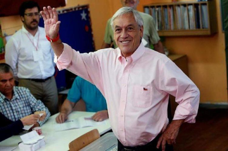 Contundente triunfo de Piñera en Chile