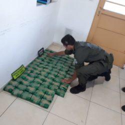 """""""Encomienda clandestina"""": incautaron cargamento de 19 kilos de hojas de coca"""