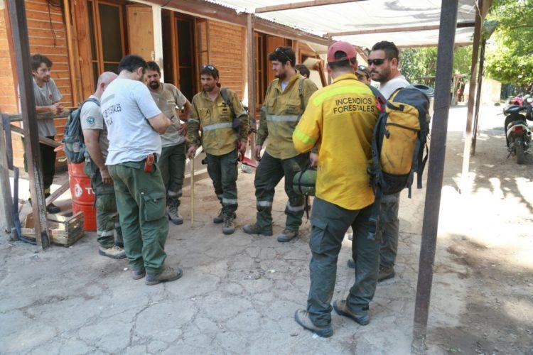 Incendios Forestales en San Rafael: Alivio, clima distendido pero con estado de alerta