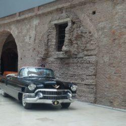 El histórico Cadillac que compró Perón en 1955, se podrá ver en el Museo Casa Rosada