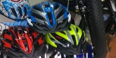 Comerciante extravió cascos de ciclistas nuevos