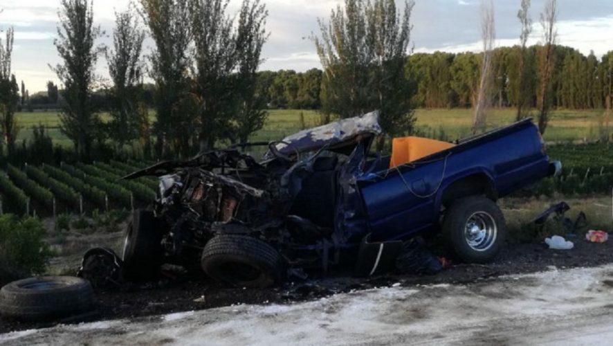 Un muerto y un herido en el camino a Chile