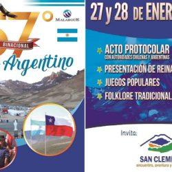 Encuentro Argentino Chileno 2018
