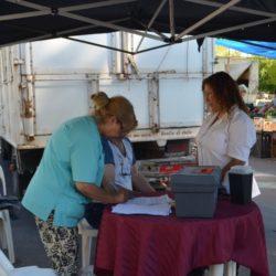 Controles nutricionales y médicos en la Feria Franca