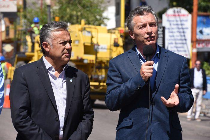 """Macri: """"No vamos a parar hasta poner en marcha Portezuelo del Viento"""""""