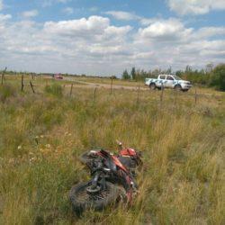 Murió motociclista en Monte Comán