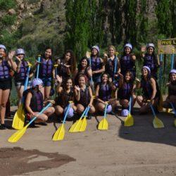 San Rafael: Rafting de Reinas en el Valle Grande