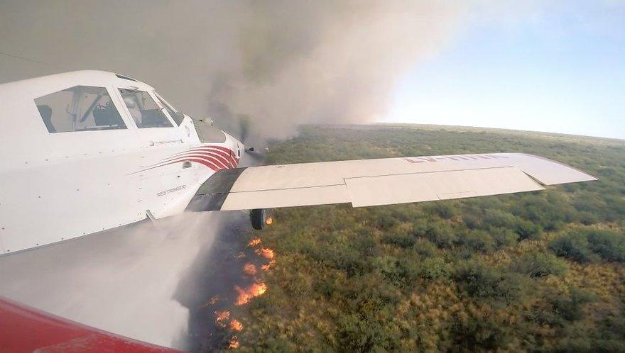 Cornejo declaró la emergencia agropecuaria por los incendios
