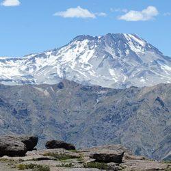 El volcán Descabezado Grande registró actividad sísmica