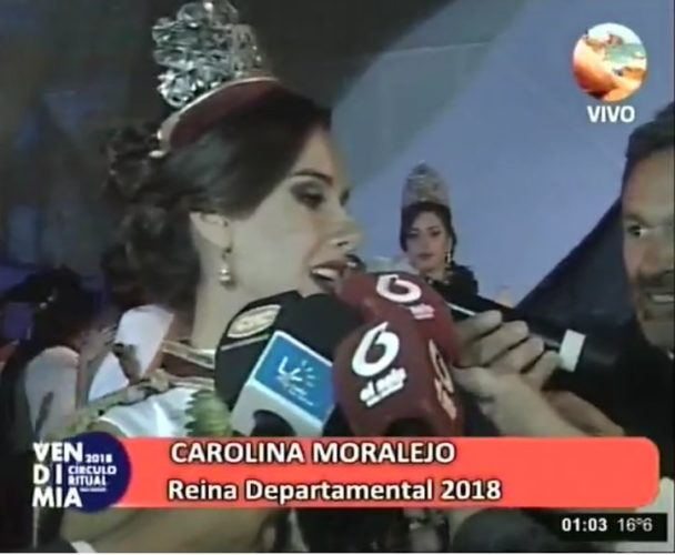 Carolina Moralejo es la  nueva Reina de la Vendimia