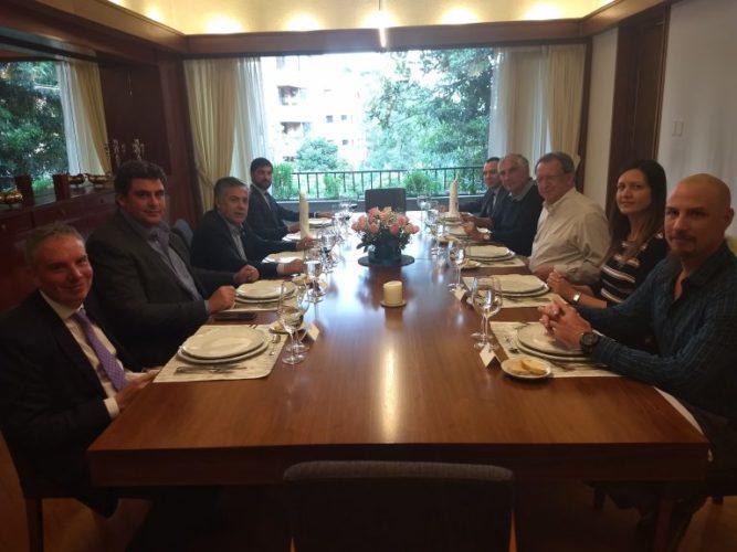 Mendoza acordó una agenda comercial con Colombia para 2018