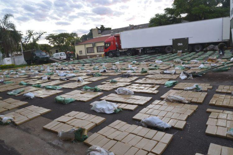 Incautaron casi 10 toneladas de marihuana en Misiones