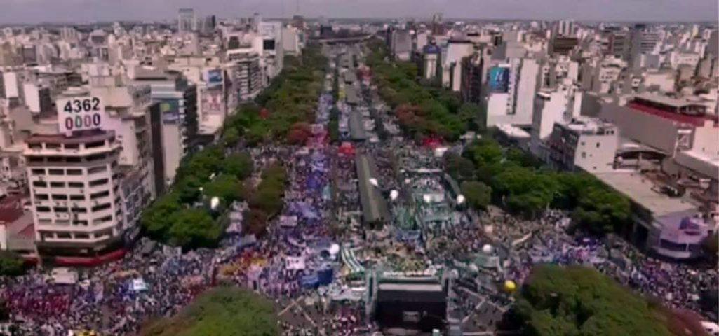 La marcha del 21F