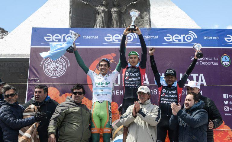 Pedro Rodríguez se quedó con la séptima etapa de la Vuelta Ciclista de Mendoza