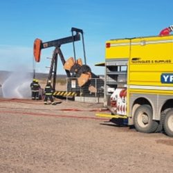 Incidente en un pozo petrolero de YPF