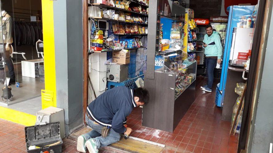 Intentaron robar El Sitio Drugstore