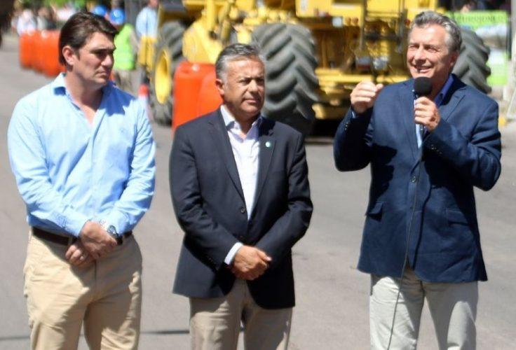 El Director Provincial de Vialidad desmintió a concejal radical por obra que visitó Macri