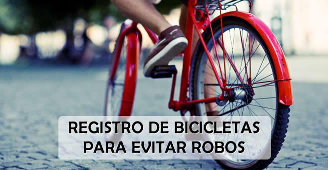 Presentaron proyecto para  Registrar Voluntariamente Bicicletas