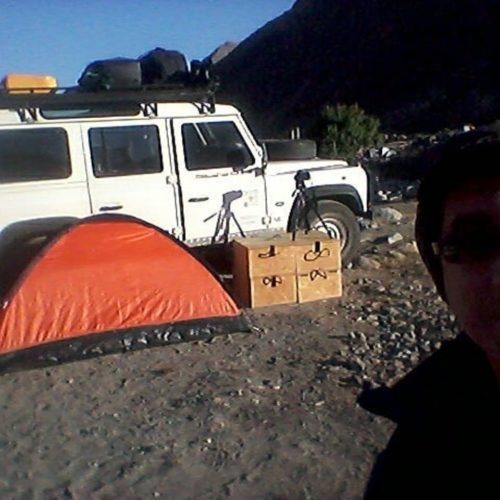 De San Rafael  a Atacama por Paso Pehuenche (parte I)