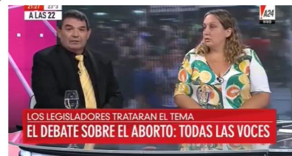 Video: Fuerte debate sobre el aborto