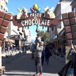 Bariloche lleno de turistas