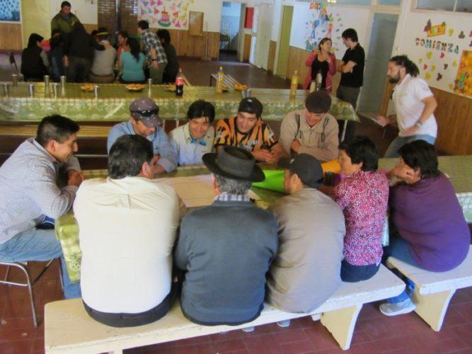 Portezuelo del Viento: talleres  para la relocalización de Las Loicas