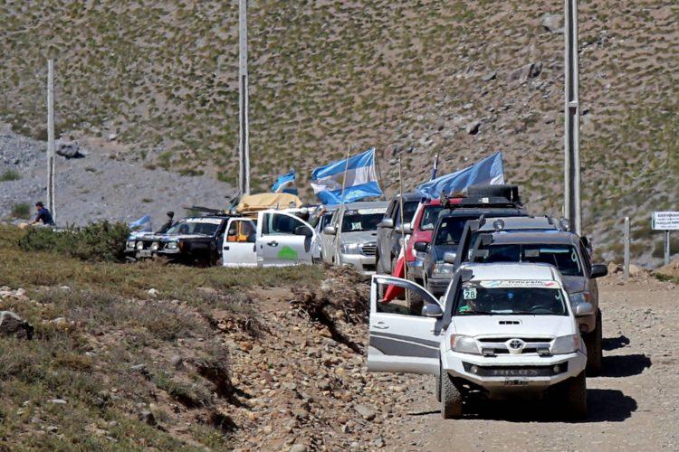 III Travesía Argentina-Chile 4×4 por el Paso de Las Damas