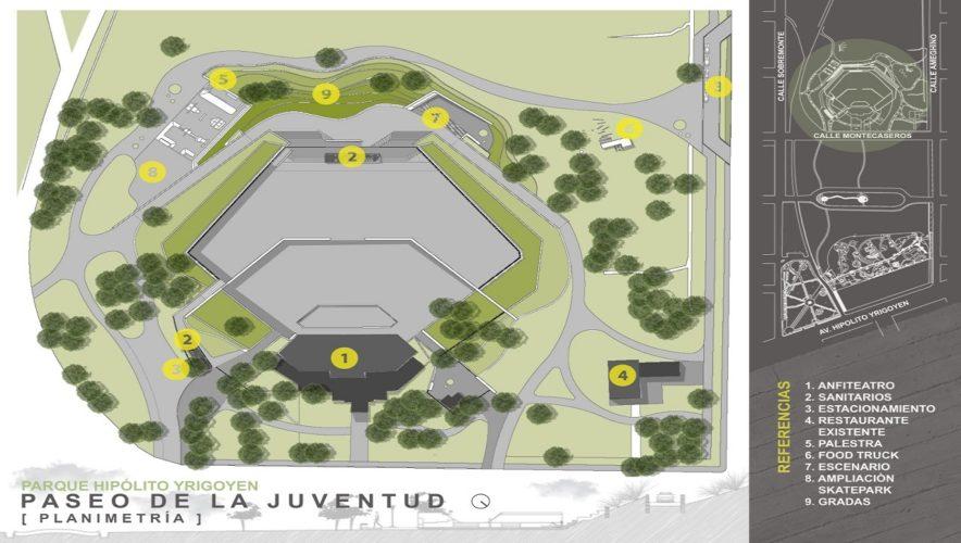 La nueva gran obra en el Parque Yrigoyen: El parque de los jóvenes