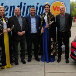 Vea entregó un auto 0 Km a la Reina Nacional de la Vendimia