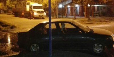 Choque en Magallanes y Las Heras
