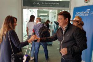 Luján de Cuyo obsequió Malbec en los vuelos de Aerolíneas