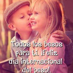 Hoy es el Día Internacional del Beso