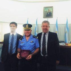 El HCD distinguió al Comisario Videla
