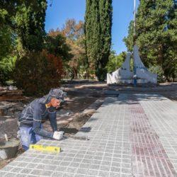 Una plaza que va a embellecer la Villa 25 de Mayo