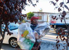 San Rafael: Los vecinos ya separan plásticos, cartones y papeles