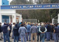 Más de 130 despidos en plantas de Fabricaciones Militares